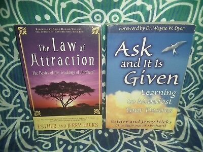 Lot 4 ESTHER & JERRY HICKS Ask And It Is Given & The Law Of Attraction ▪ Abraham