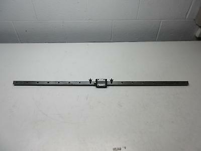 "THK LWES20 Bearing w/ 39"" CNC Linear Slide Rail"