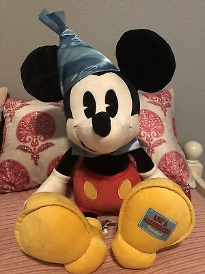 Disney Park Exclusive Mickeys 90th Birthday Party Hat Jumbo Plush