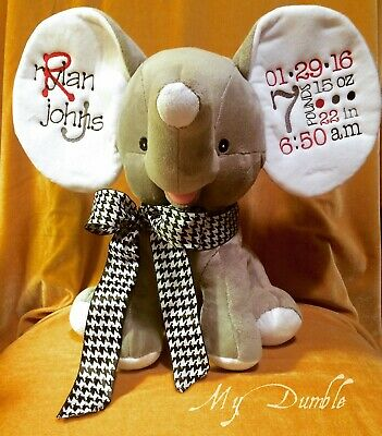 Personalized Custom MyDumble Stuffed Animals Gift with Monogram Name Your Design