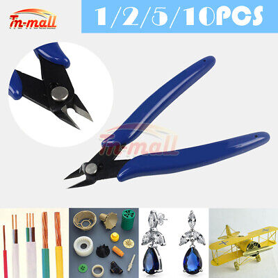 1/2/5/10PCS PLATO 170 Electronics Cutter Side-Cutting Pliers Micro Scissor 125mm