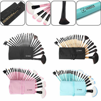VANDER 24Pcs Multicolor Beauty Makeup Brushes Set Foundation Cosmetic Brush Tool