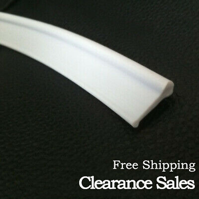 Soft Rubber Shower Seal for Folding Bath Screen Glass Door White Clearance Sales