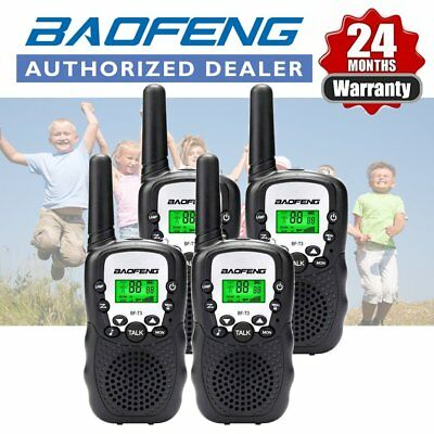 4x BAOFENG BF-T3 Mini Two Way Radio Walkie Talkie 22CH Outdoor Interphone