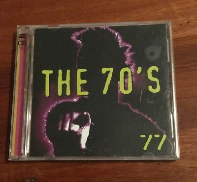 The 70's 77 Compilation CD Time Life OOP Rock Pop