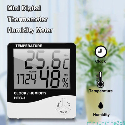 Digital LCD Electronic Thermometer Hygrometer Temperature Humidity Meter Indoor
