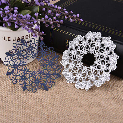 Christmas Metal Cutting Dies Xmas DIY Craft Postcards 3D Stamp Flower Scrapbook