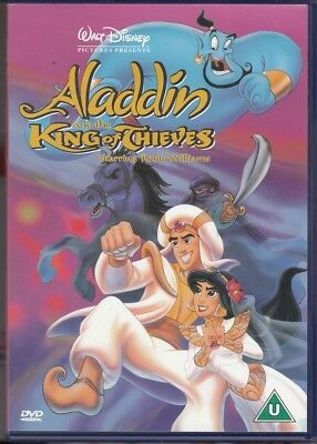Aladdin and the King of Thieves DVD - Disney - Good - DVD