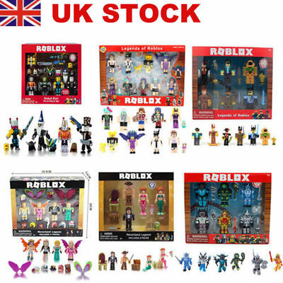 Roblox Robot Riot 4 Figure Pack Mix & Match Set Figure Toys Kids Gifts UK Stock