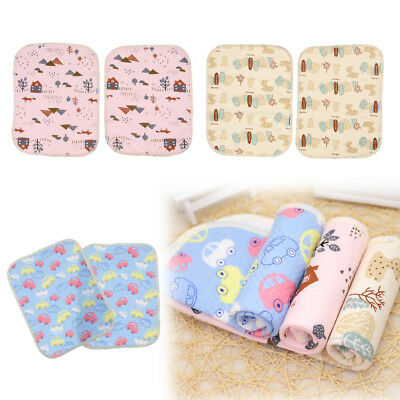 2Pieces Baby Infant Changing Mat Nappy Wipe Clean Nursery For Birth Babies