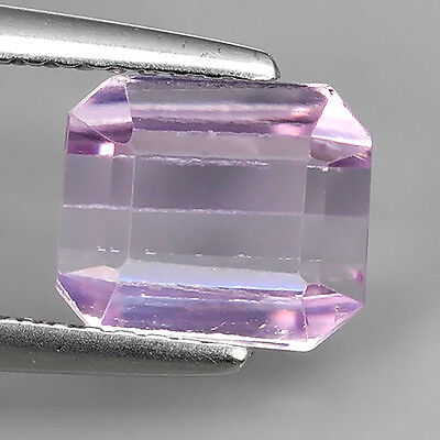 2.52Ct Untreated Extremely Soft Pink Natural Kunzite Octagon Cut Loose Gemstones
