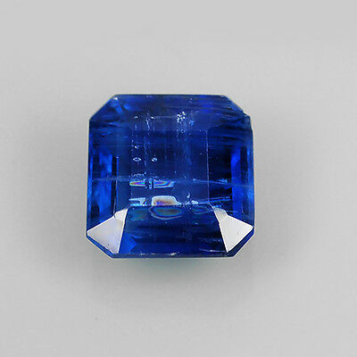 2.01 Ct Beautiful Blue Color Natural Kyanite Square Cushion Cut Loose Gemstones