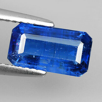 2.46 Ct Unheated Royal Blue Natural Kyanite Octagon Cut Loose Gemstones