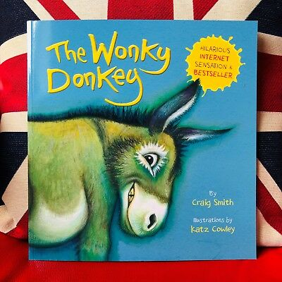 The Wonky Donkey by Craig Smith (Paperback 2018) No.1 Bestseller New Book