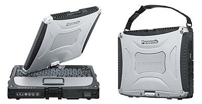 Panasonic Toughbook CF-19 MK-7, Core i5-3340M - 2.7GHz, 4GB, 128GB SSD , Webcam