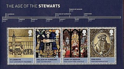 GB Stamps 2010 'The Age of the Stewarts' MS3053 - U/M