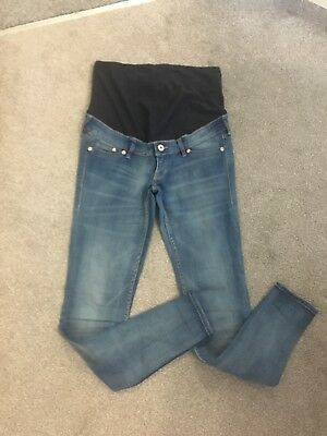 H And M Mama Over The Bump Pregnancy Maternity Skinny Jeans