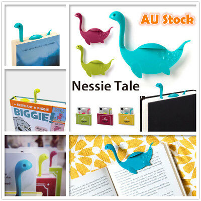 Nessie Tale Bookmark Loch Ness Monster Cute Reading Bookmarks Funny Memo Novelty