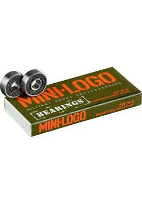 Mini-Logo Bearings 608 ZRS Skateboard Kugellager Longboard