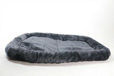MidWest Deluxe Bolster Pet Bed for Dogs & Cats - Preowned