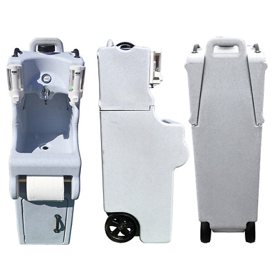 Hand Wash Station Fully Portable with Basin & Soap - Full Unit - Tasty Trotter