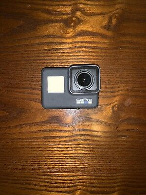 GoPro HERO6 Black 4K Action Camera with Charger + Dual Battery Charger 2 Batts