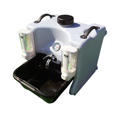 Hand Wash Station Fully Portable with Basin & Soap - Top Unit - Tasty Trotter