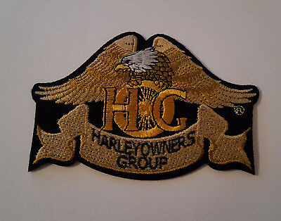 1x Patch Aufnäher Harley Davidson Harley Owners Group