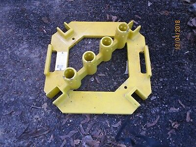 Guardian Fall protection 15178 Quickset Multi directional baseplate G-Rail