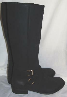 NEW WOMEN'S BLACK BLACK BLACK waterproof Leder shearling Blondo winter Stiefel ... 992e96