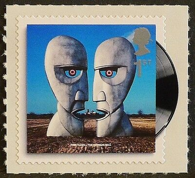 'The Division Bell' (Pink Floyd) Album Cover on 2010 stamp - U/M