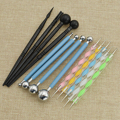 13pcs Ball Stylus Pens Mandala Dotting Painting Tool for Furniture Wood Rocks