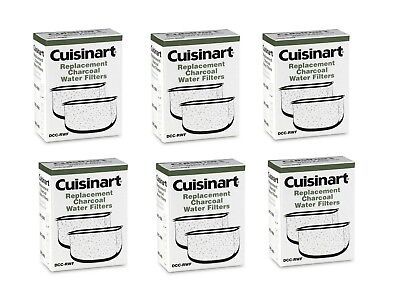 Cuisinart DCC-RWF Replacement Water Filters, 12-Pack OEM in Retail Box
