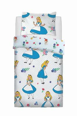 Alice In Wonderland Falling Disney Style Duvet Cover Set Reversible Bedding Sets