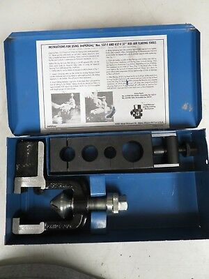 Imperial Model 537-F Rol-Air Flaring Tool Kit in case - NG3