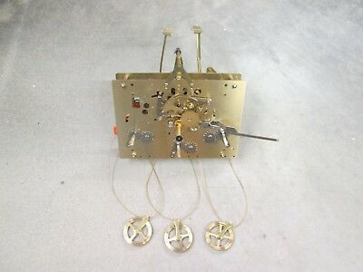 Hermle American Beautiful Westminster Chimes Grandfather Clock Movement 1561-853