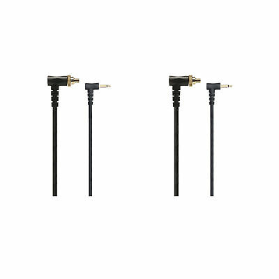 PocketWizard 804-310 1-Foot Locking PC Flash Sync Cable PC1N (Black) 2-Pack
