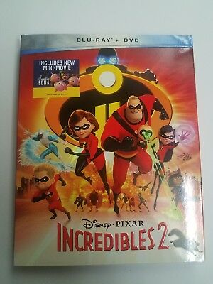 The Incredibles 2 Blu Ray & DVD  Silp Cover