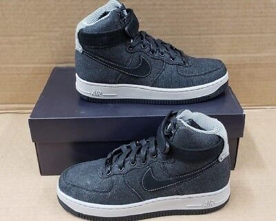 54dd7862728b3 Nike Air Force 1 Hi Se Black Dark Grey Athletic Women's Us Size 7 860544 003