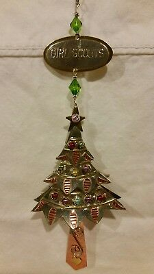 Girl Scout Metal Christmas Tree Ornament, Collectible, NWOT