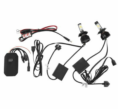Pit Bike Headlight Kit With Voltage Regulator Bar Switch Wire