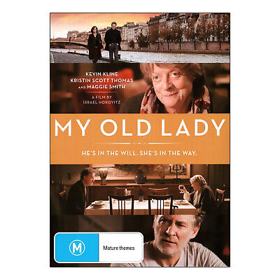 My Old Lady DVD Brand New Region 4 Aust. - Maggie Smith, Kevin Kline