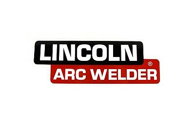 """Arc Welder Pipeline Decal 12""""x4"""" for a Lincoln SA-200 BW830"""