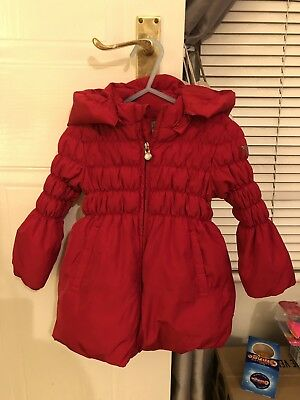 Armani Baby Red Jacket Coat Age 18 Months