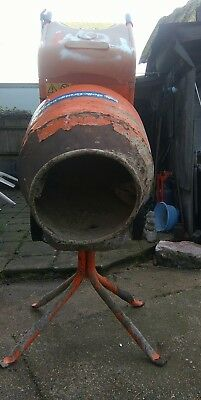 belle cement mixer working buyer collects