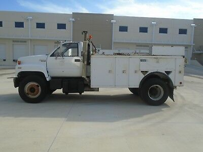 Gmc Chevrolet Kodiak Cat Diesel Cable Puller Placer Reel Truck Only 78K Miles