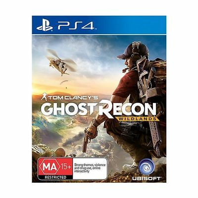 Tom Clancys Ghost Recon Wildlands PS4 Game - Playstation - Like NEW