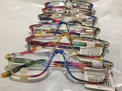 bf3feb73903 2 Reading Glasses 2.25 Unisex MultiColor High Quality Half Frame Reading  glasses