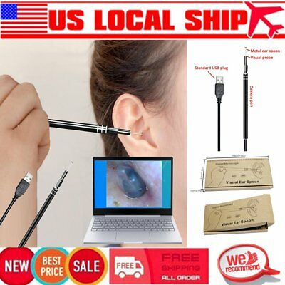 Health Care Tool Ear Pick Wax Remover Cleaner scope Endoscope windows PC USB ID