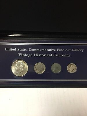 """United States Commemorative Fine Arts Gallery"""" Vintage Historical Currency"""""""